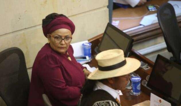 Victoria Sandino llegó al Congreso tras los diálogos de paz