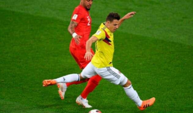 El lateral de la Selección Colombia se fue del Mundial en octavos de final