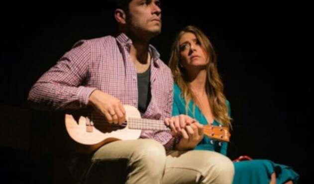 Santiago Alarcón y Verónica Orozco