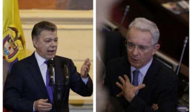El senador Álvaro Uribe ha sido el mayor opositor del gobierno de Santos
