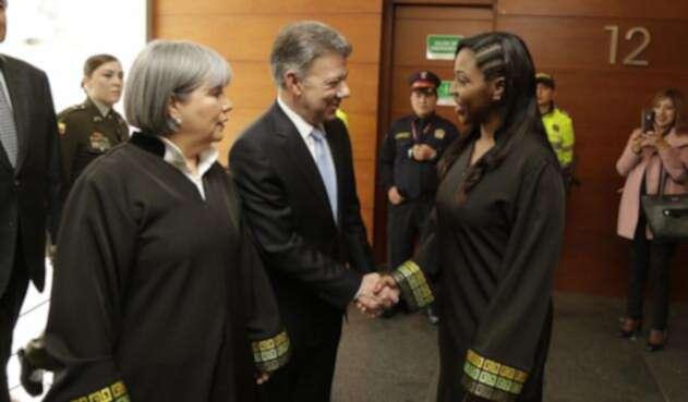 El presidente Santos asistió a sesión extraordinaria de la JEP