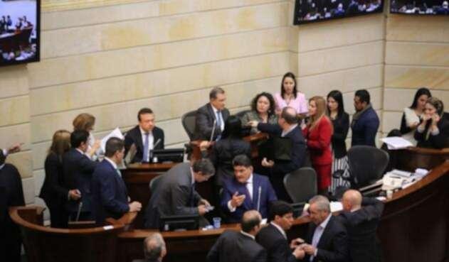 Plenaria de Senado en elección de Comisiones