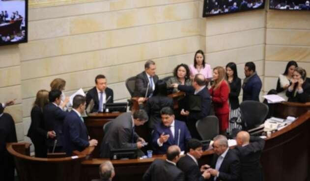 Plenaria de Senado