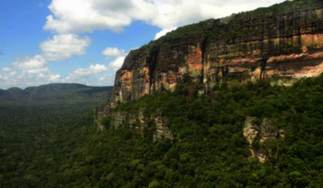 Serranía de Chiribiquete, patrimonio de la Humanidad