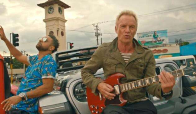 Sting y Shaggy