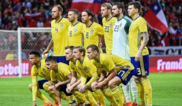 La Selección de Suecia derrotó a Suiza en octavos de final