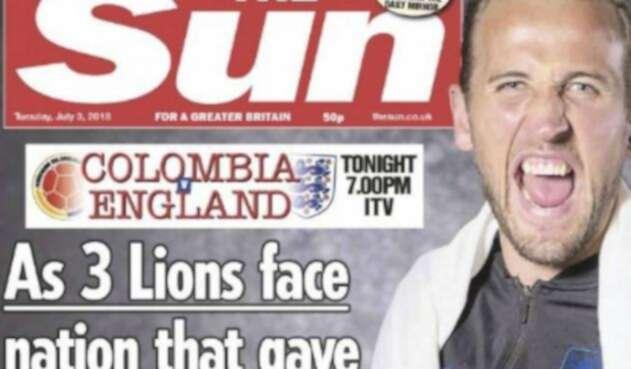 Así The Sun cargó contra Colombia