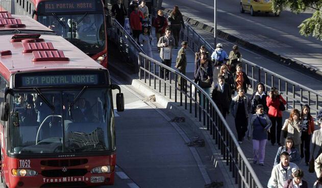 Robos en buses de TransMilenio