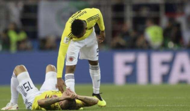 Mateus Uribe erró uno de los penales que dejó eliminada a la 'tricolor'