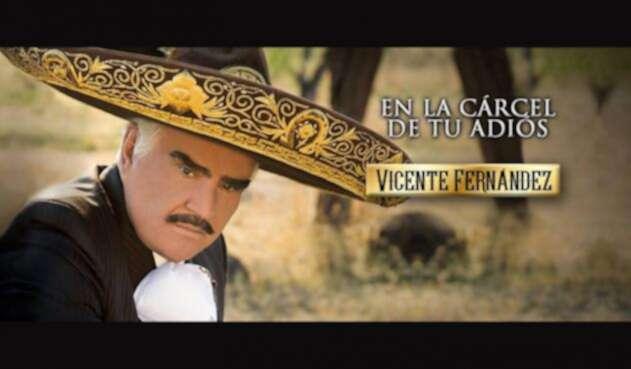Imagen promocional de 'En la cárcel de tu adiós', de Vicente Fernández