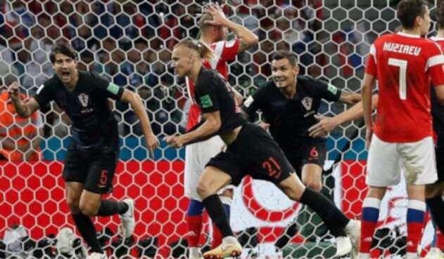 Vida puso el segundo tanto para Croacia