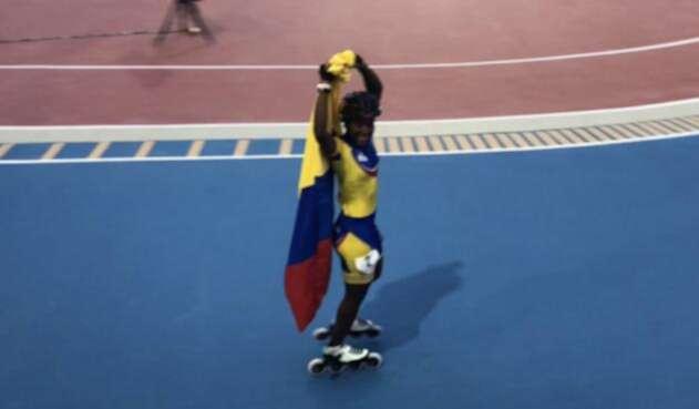Colombia gana en 1.000 metros sus primeros dos oros en patinaje