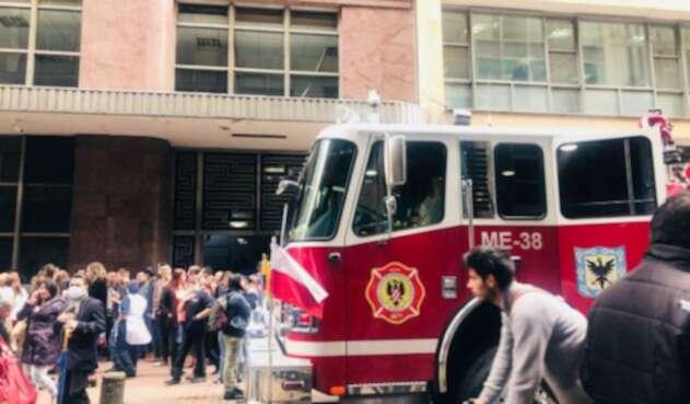 La sede del MinInterior fue evacuada por una fuga de gas.