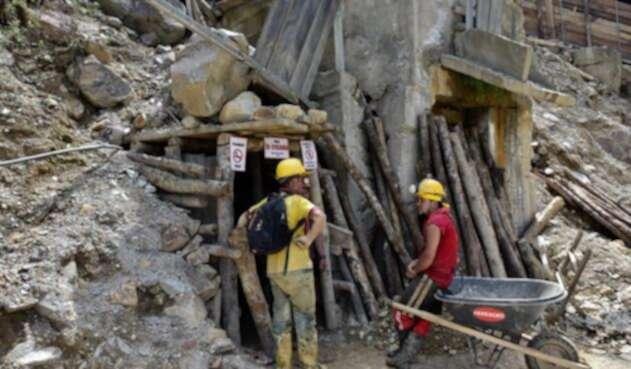 Mineria artesanal en Colombia
