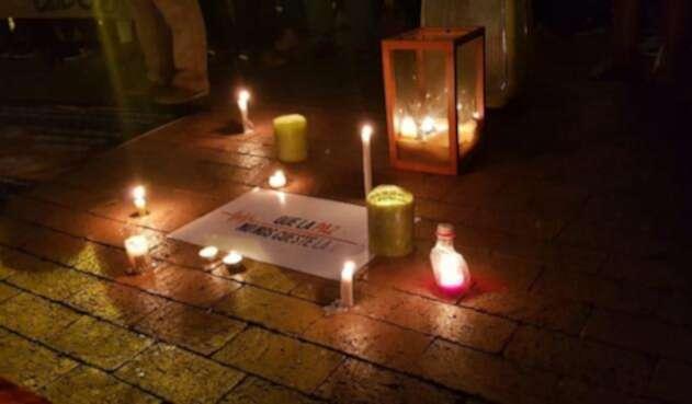 Así se vivió la semana pasada la protestas por el asesinato de líderes sociales en Colombia.