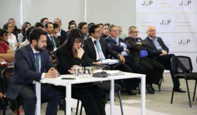 Timochenko fue el primero en comparecer ante la JEP