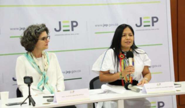 Las magistradas Julieta Lemaitre y Belkis Izquierdo