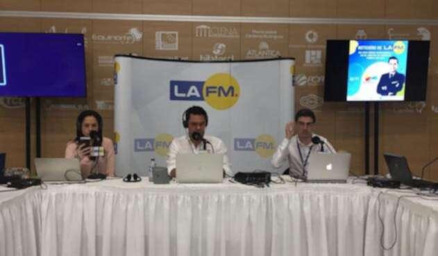 Luis Carlos Vélez y su equipo está en Barranquilla