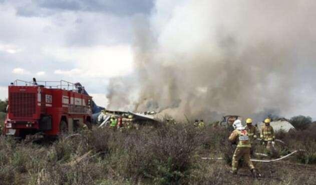 Accidente aéreo de Aeroméxico en Durango