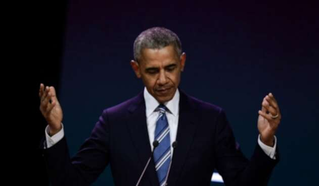 Expresidente de EE.UU. Barack Obama.