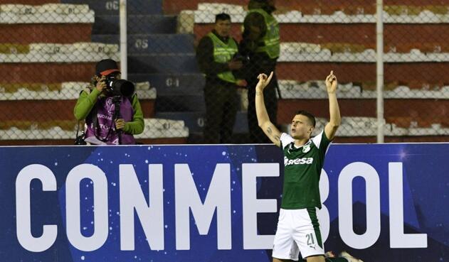 Nicolás Benedetti, de tiro penal a los 88, sentenció el partido