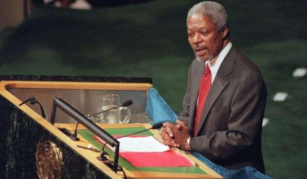 Kofi Annanfalleció este sábado a los 80 años,