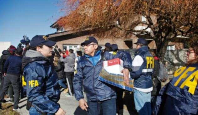 Un enorme operativo se desplegó en el exclusivo barrio de Recoleta, en Buenos Aires