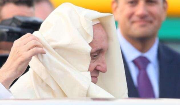 Papa Francisco en Irlanda.