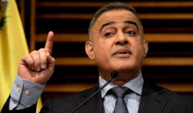 Tarek William Saab, el fiscal de Venezuela que ha denunciado que la oposición recurre habitualmente a 'la violencia'.
