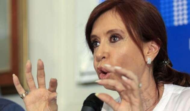 Expresidenta argentina Cristina Kirchner.