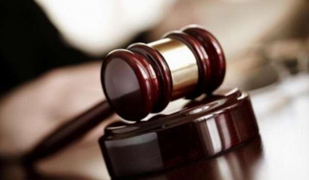 Foto referencial investigación judicial.