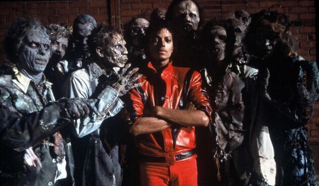 Michael Jackson en 'Thriller' (Epic Records-1982), sexto álbum de estudio del artista, el segundo disco más vendido en los Estados Unidos