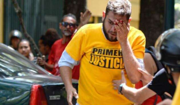 Opositor venezolano Juan Requesens.