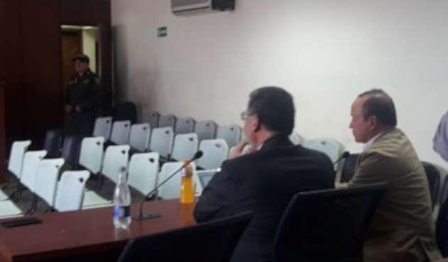 Audiencia Santiago Uribe.