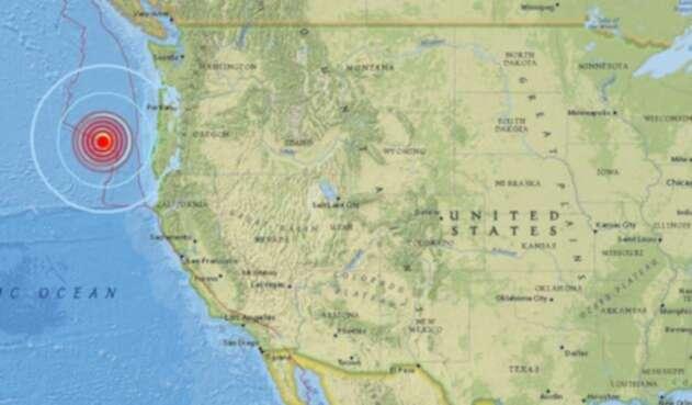 Sismo sacudió Oregon, Estados Unidos