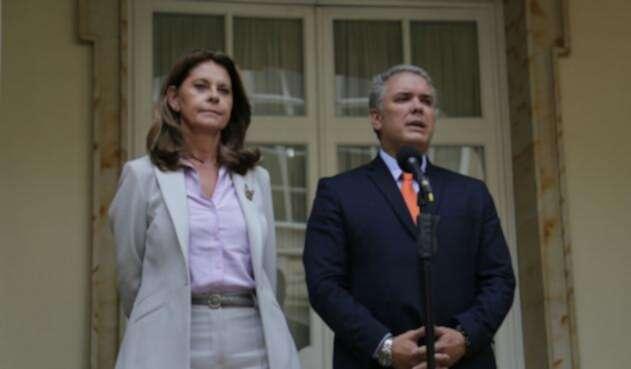 Marta Lucía Ramírez, vicepresidenta de Iván Duque, es la primera mujer en asumir esa distinción
