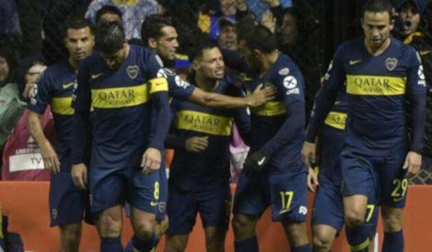 Boca Juniors, tras el gol de Mauro Zárate en Copa Libertadores