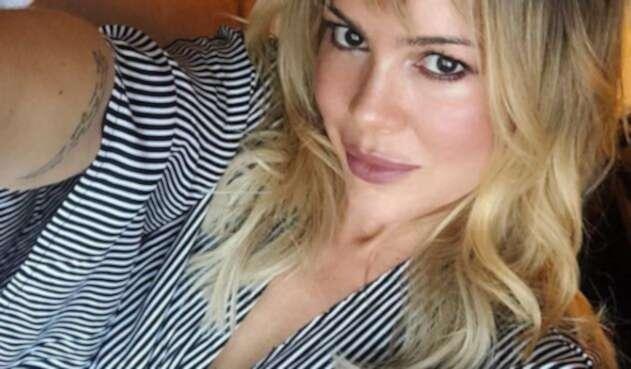 La modelo Natalia París mostró una fotografía muy sugestiva.