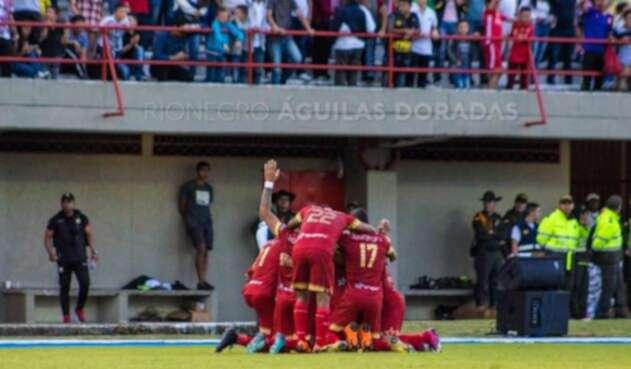 Rionegro superó a Deportivo Cali en la fecha 6 de la Liga Águila II-2018
