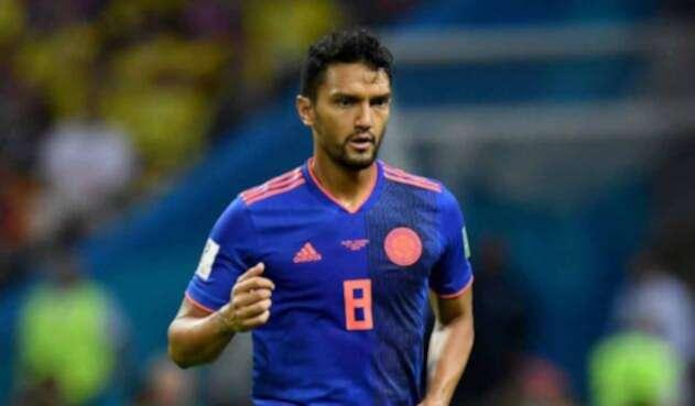 Abel Aguilar en el partido de la Selección Colombia ante Polonia durante el Mundial de Rusia 2018