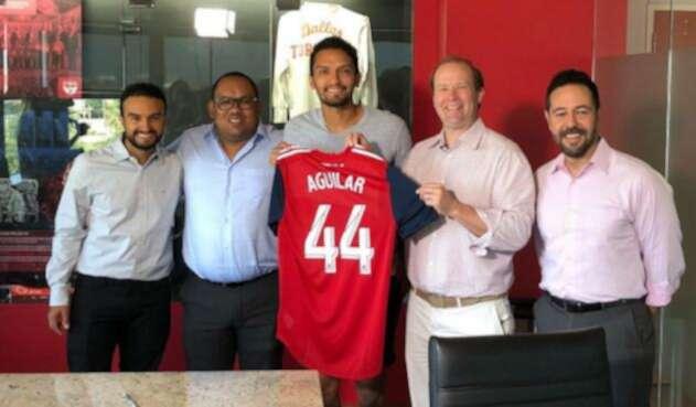 Abel Aguilar confirmó que jugará con FC Dallas en la MLS