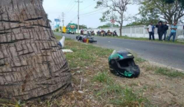 En los principales ejes viales del departamento, fallecieron cinco personas y otras cuatro resultaron lesionadas este fin de semana.