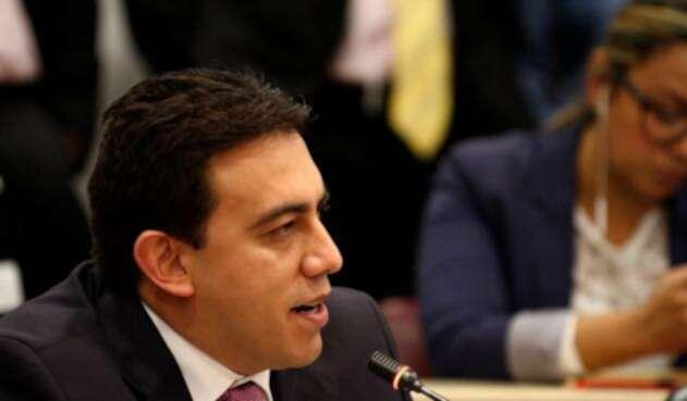 Alexander Vega, magistrado del Consejo Nacional Electoral