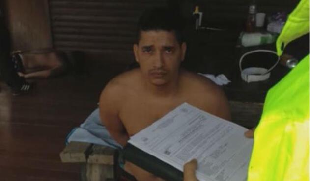 Juan Carlos Castro, alias 'Pichi Belén'.