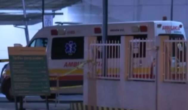 Un médico de una ambulancia en Bogotá fue atacado por robarle una cadena