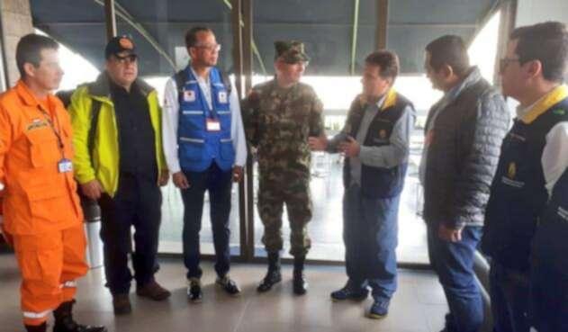 Autoridades coordinando acciones para atender la emergencia en Mocoa