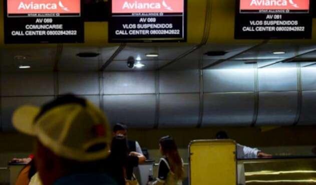 Pasajeros de Avianca afectados por operaciones en Bogotá