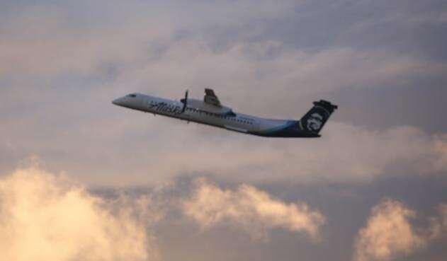 Avión de Alaska Airlines Bombardier Dash 8 Q400