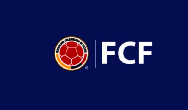 Logo oficial de la Federación Colombiana de Fútbol