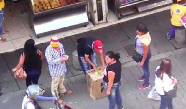 Banda delincuencial desmantelada por la Policía, sindicada de estafar a sus víctimas con el juego de 'La bolita'